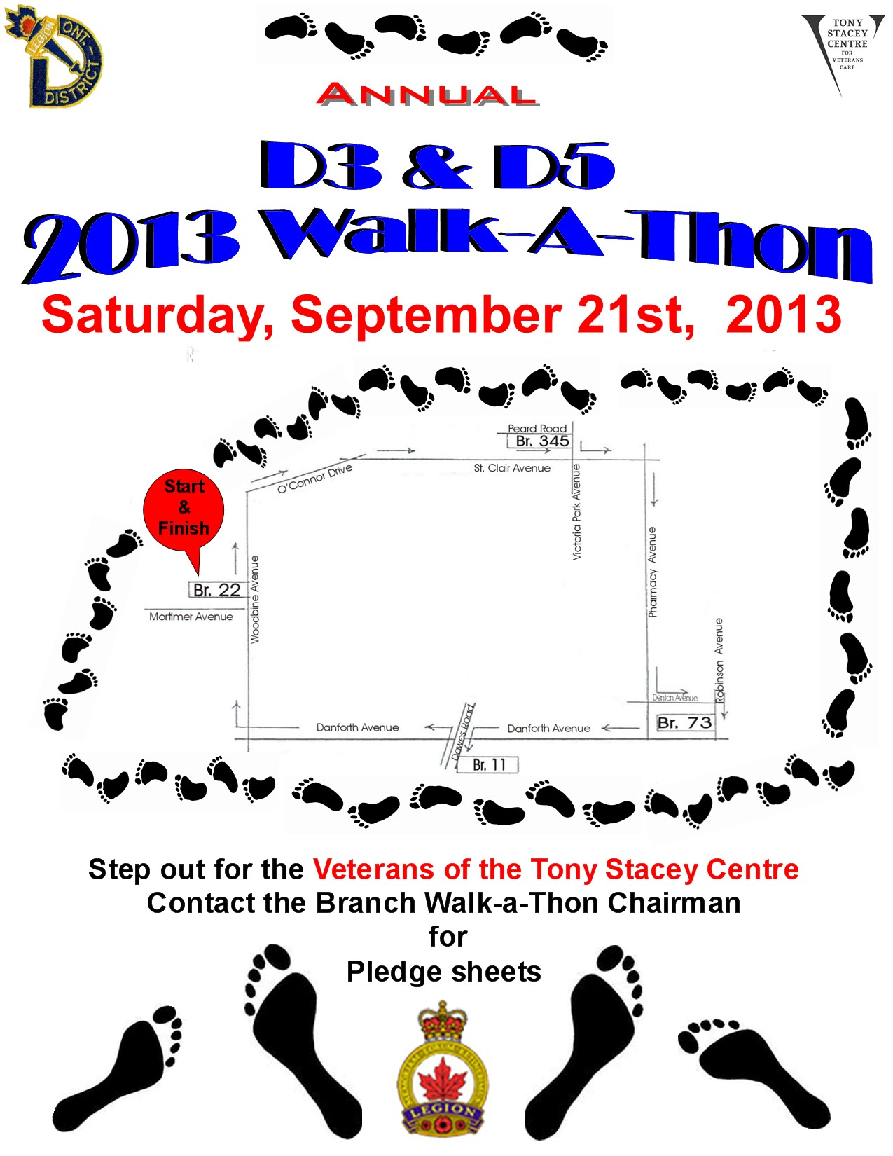 1275 1650 in 2013 walkathon flyer
